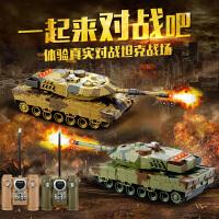 手机蓝牙对战坦克遥控迷你遥控坦克车儿童电动玩具车军事模型