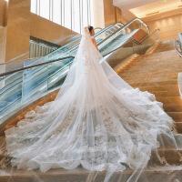 鱼尾婚纱裙结婚礼服新款2018欧美性感宫廷新娘收腰显瘦大拖尾