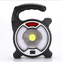 户外野营USB充电警示灯带手电筒多功能马灯应急灯SN0035