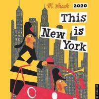 英文原版 这就是纽约2020年挂历 THIS IS米先生的世界旅游绘本系列 This is New York 2020