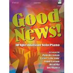 【预订】Good News!: 10 Spirituals for Solo Piano