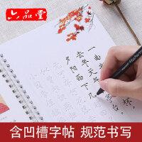 瘦金体字帖钢笔成人宋徽宗速成女生初学者大学生硬笔书法练字帖本