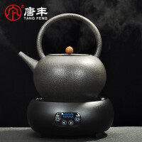 唐丰泡茶煮茶器陶瓷煮茶壶大容量陶壶自动电陶炉家用烧水壶提梁壶
