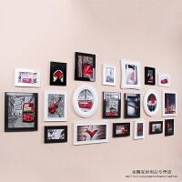 斐洛照片墙欧式现代简约椭圆形卧室客厅创意相框组合