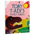 【T&H】Tony T-Rex's Family Album,托尼・t・雷克斯的家庭相册 英文绘本