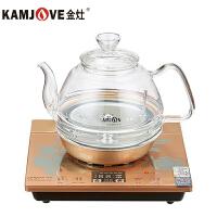 KAMJOVE/金灶 H7 全智能耐高温玻璃电茶炉涌泉式全自动上水电热水壶茶艺炉自动上水壶