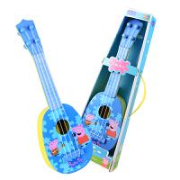 乐器教学玩具男女孩可弹奏小猪佩奇尤克里里儿童初学者小吉他学生