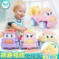 儿童玩具车男孩益智工程车1-3-5周岁宝宝惯性小汽车模型套装礼物