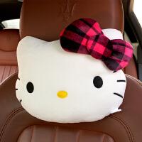 汽车头枕护颈枕可爱卡通车用座椅靠枕枕头车枕一对装