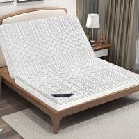 椰棕床垫棕垫1.8m1.5米软硬棕榈折叠床垫定做乳胶席梦思1.2米床垫 D款10cm厚(织锦面料+3E棕)一体/折叠