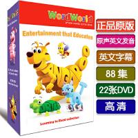 英文原版 Word World 单词世界DVD高清英语字幕 儿童早教动画碟片