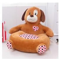 新款卡通毛绒玩具长颈鹿儿童玩偶懒人沙发榻榻米地板垫椅坐垫