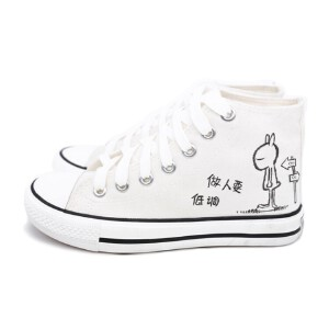 O'SHELL欧希尔新品138-CH-Y003休闲平底女士男士帆布鞋