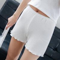 新款打底裤防安全裤女士短裤大码夏季丝薄可外穿保险裤