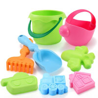 儿童沙滩玩具铲子套装大号婴儿洗澡玩具宝宝挖沙漏玩沙工具决明子男女孩玩具