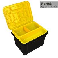 汽车收纳箱 双层多功能车用储物箱车载用品置物箱后备箱车内