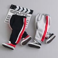童装男宝宝冬装裤子0-1-2-3-4岁婴儿裤子哈伦裤男童