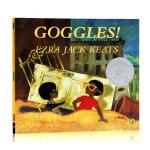 Goggles酷眼镜 英文原版 1970年凯迪克银奖绘本 儿童启蒙平装图画故事书 亲子共读