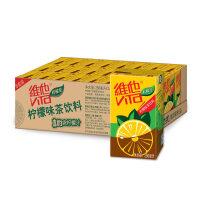 1月维他奶 柠檬茶250ml*24盒 整箱 果味茶饮料 柠檬味 清新激爽 运动休闲饮料