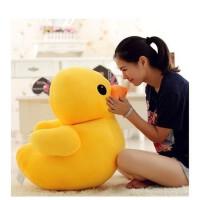 毛绒玩具送女友情人儿童节生日礼品大黄鸭公仔黄色可爱鸭抱枕