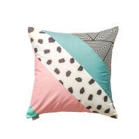 北欧小清新含芯抱枕靠垫 可爱客厅沙发靠枕办公室汽车护腰 45x45cm(抱枕 含芯)