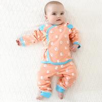 【3件3折后45】和尚服新生儿衣服0-9个月宝宝纯棉加厚秋冬内衣春秋初生婴儿套装