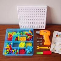 电动工具箱小小维修师创意大玩法电动螺丝动手构建你的建筑 桔色 图片色