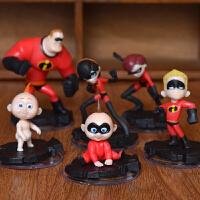 The Incredibles 2 超人总动员特工队2手办玩具模型公仔周边摆件