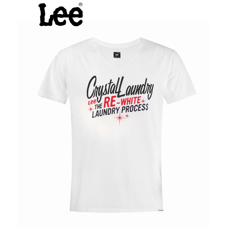 Lee 【断码】男士短袖T恤夏季潮男装纯棉短袖T恤LMY057J31W00