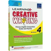 【首页抢券300-100】SAP Learning Creative Writing Workbook 4 学习系列小学