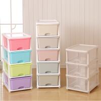 特大号抽屉式收纳箱加厚衣物收纳盒玩具塑料整理箱储物收纳柜
