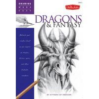 【预订】Drawing Made Easy Dragons & Fantasy