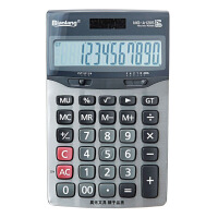 晨光 ADG98194 标朗12位桌面型计算器财务 金属面板/太阳能/电池双电源计算器