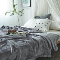 欧美加厚法兰绒毛毯被子学生单人双人珊瑚绒床单空调毯子冬季
