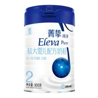 雅培 (Abbott) 【旗舰店】菁挚纯净较大婴儿配方奶粉2段 (爱尔兰进口) 900g*1罐(18年11月产)