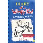 Diary of a Wimpy Kid #2 Rodrick Rules 小屁孩日记 2 (英国版,平装)ISBN 9780141324913