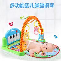 宝宝音乐游戏毯玩具0-1岁3-6-12个月脚踏钢琴婴儿健身架器