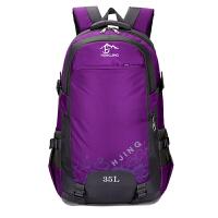 双肩包背包女士旅行包夏户外登山包