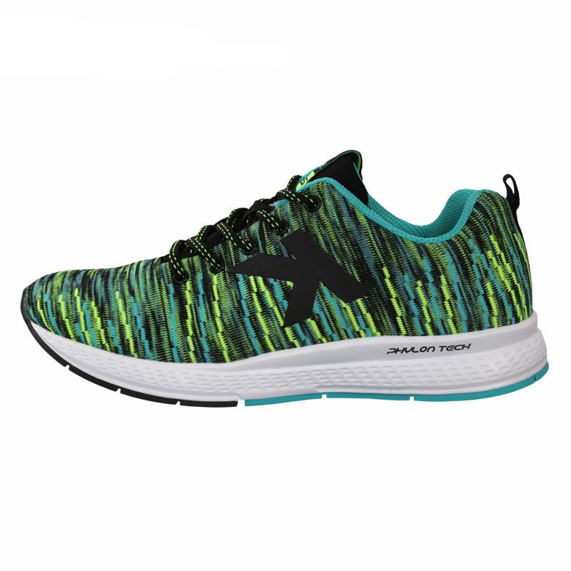 KELME卡尔美  K785B 男式运动鞋 透气轻便减震慢跑鞋 休闲飞织跑步运动鞋