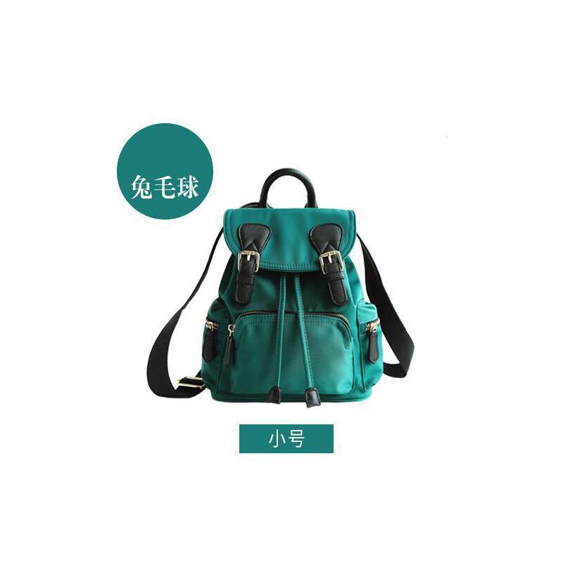 小包包 女 迷你包英伦韩版帆布书包双肩包尼龙牛津布新款包包迷你零钱