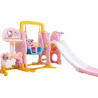 儿童室内滑梯家用多功能超长旗舰滑滑梯1米9m宝宝组合滑梯秋千塑料玩具加厚
