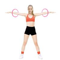 手臂呼啦圈瘦腰女加重收腹可拆卸软海棉儿童健身圈呼拉圈