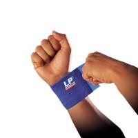 LP欧比护腕硅胶弹性绷带693 自由缠绕波浪纹硅胶防滑腕关节护具 单只