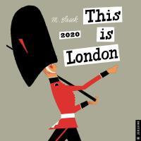 英文原版 这就是伦敦2020年挂历 THIS IS米先生的世界旅游绘本系列 This Is London 2020 W
