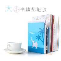 书立 靠书架 2个 简约铁书立架韩国风书靠书架简易桌上桌面高中生学生用品创意书撑