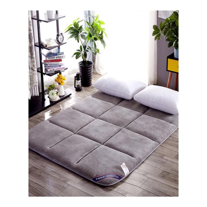 地铺睡垫1.2折叠单人加厚懒人学生宿舍榻榻米床垫 1.5M床地垫