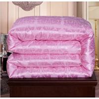 礼品包装被冬季棉被 粉色 2.0*2.3m6斤秋冬被【送包装】