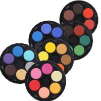KOH-I-NOOR 捷克酷喜乐24色固体水彩颜料 水彩|便携式固体水彩颜料套装