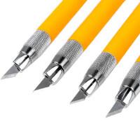 橡皮章雕刻工具笔刀刻刀剪纸刻刀橡皮章刻刀美工刀小黄/小黑