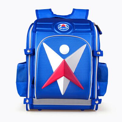 Ergofit爱高适 ER1008E蓝色 健康护脊小学生书包男EVA儿童书包 当当自营